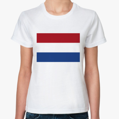 Классическая футболка  Нидерланды