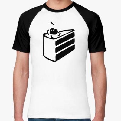 Футболка реглан  Portal Cake