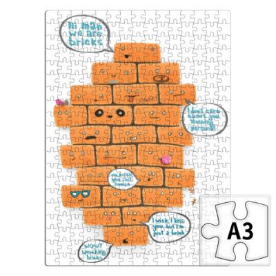 Пазл Funny Bricks