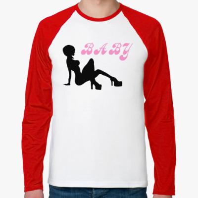 Футболка реглан с длинным рукавом Baby