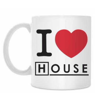 Кружка I heart House