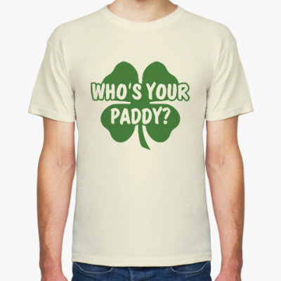 Футболка Who's your paddy