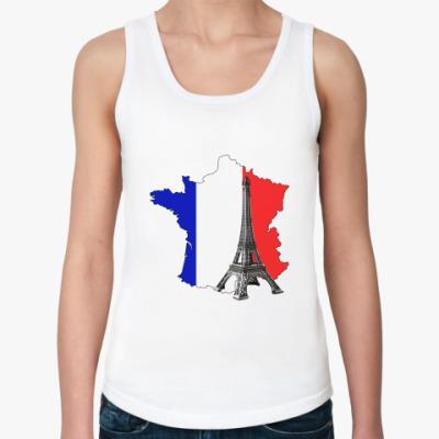 Женская майка Франция