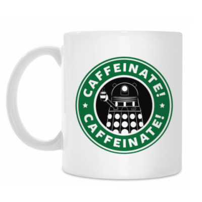 Кружка Caffeinate Dalek