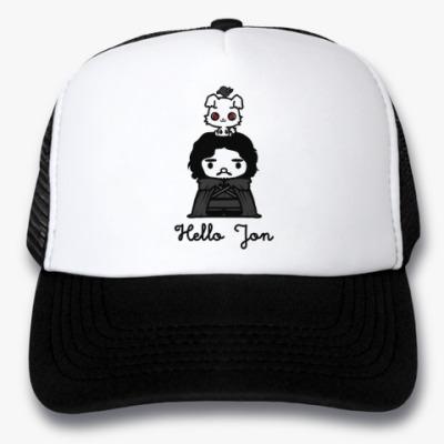 Кепка-тракер Hello Jon