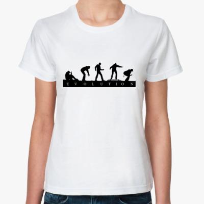 Классическая футболка 'Evolution'