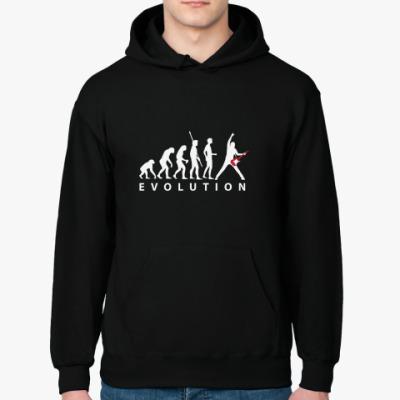 Толстовка худи Эволюция рок-звезды