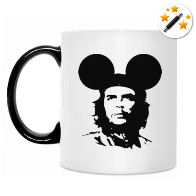 Кружка-хамелеон  Mickey Mouse Che Guevara