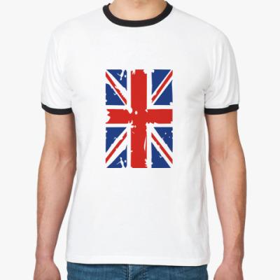 Футболка Ringer-T Британский флаг