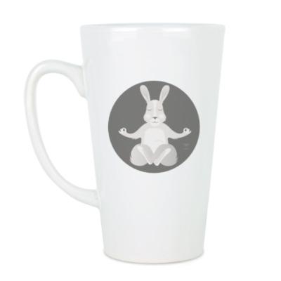 Чашка Латте Animal Zen: R is for Rabbit