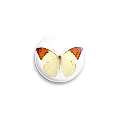 Значок 25мм  Бабочка 18