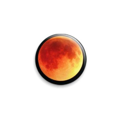Значок 25мм  planet