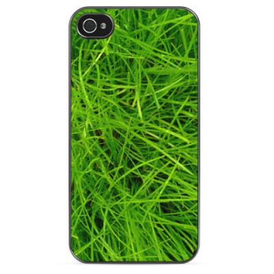 Чехол для iPhone Зелёная трава