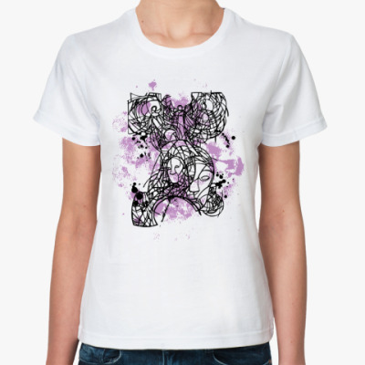 Классическая футболка Дизайн