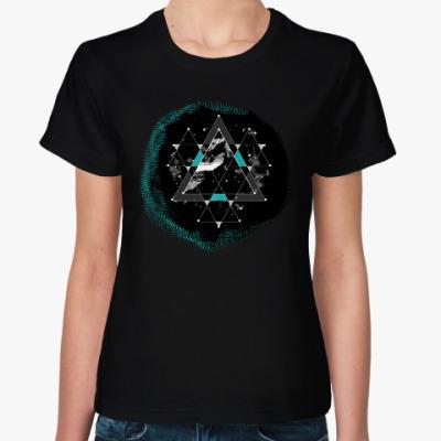 Женская футболка Коридоры времени