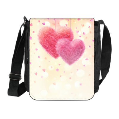 Сумка на плечо (мини-планшет) Любовь