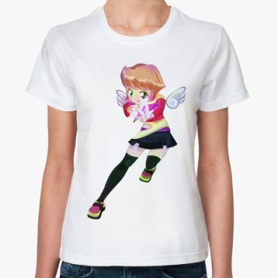 Классическая футболка Анимешка