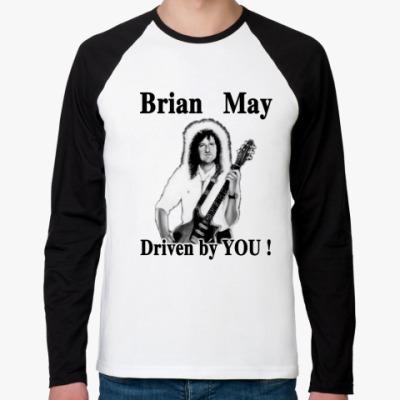 Футболка реглан с длинным рукавом  Brian May