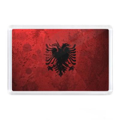 Магнит Албания, флаг