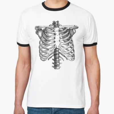 Футболка Ringer-T Bones
