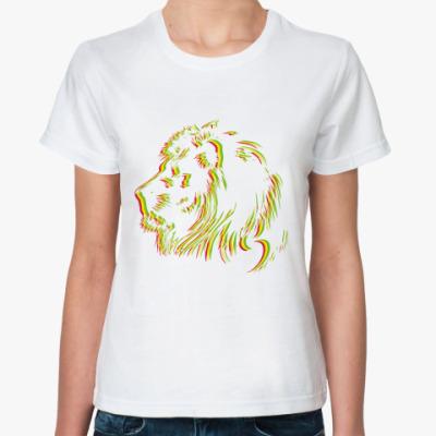 Классическая футболка RastaLion