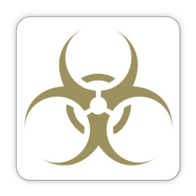 Костер (подставка под кружку) 'biohazard'