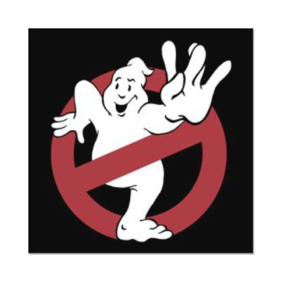 Наклейка (стикер) West Ghost