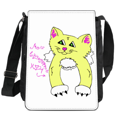 Сумка-планшет Мой внутренний кот (Солнушек)