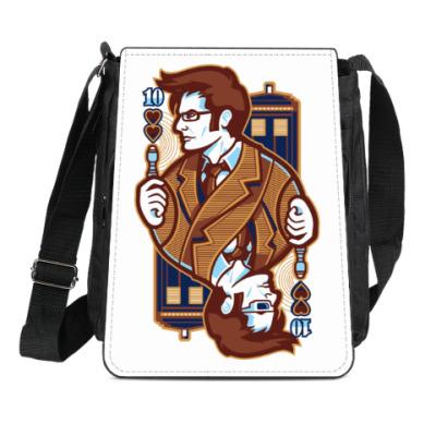 Сумка-планшет Десятый Доктор