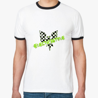 Футболка Ringer-T Electrostyle