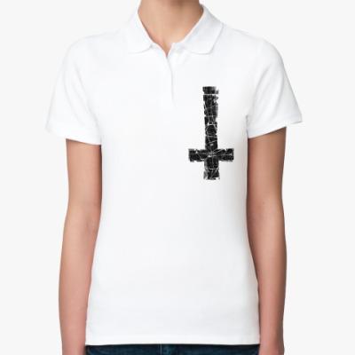 Женская рубашка поло 2Крест