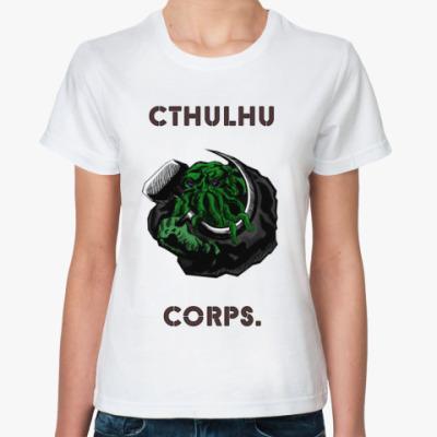 Классическая футболка  Cthulhu Corps.