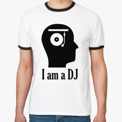 Футболка Ringer-T DJ