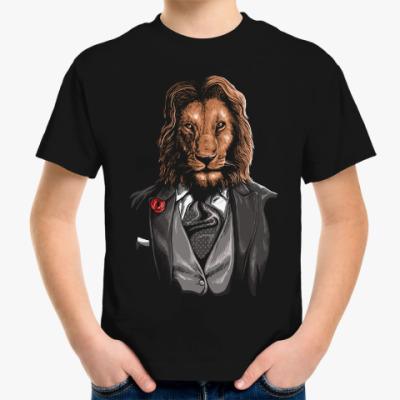 Детская футболка Мистер Лев