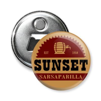 Магнит-открывашка Sunset Sarsaparilla (Fallout)