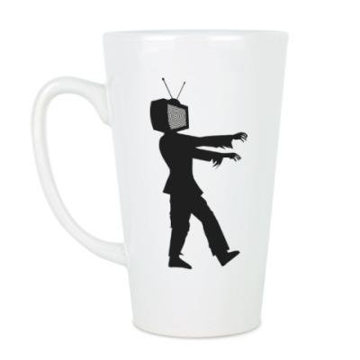 Чашка Латте Зомби ТВ