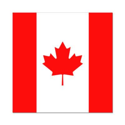 Наклейка (стикер)  Канада, Canada