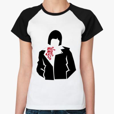 Женская футболка реглан Hey Ho  Ж ()