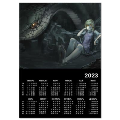 Календарь Год змеи