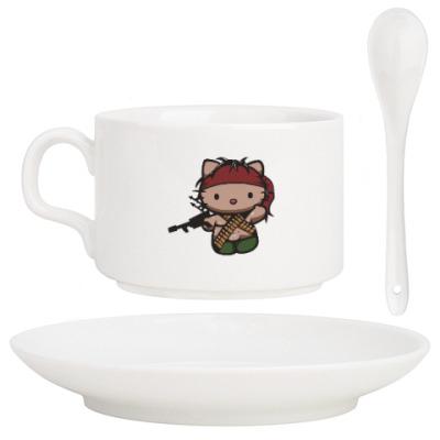 Кофейный набор Китти Рэмбо