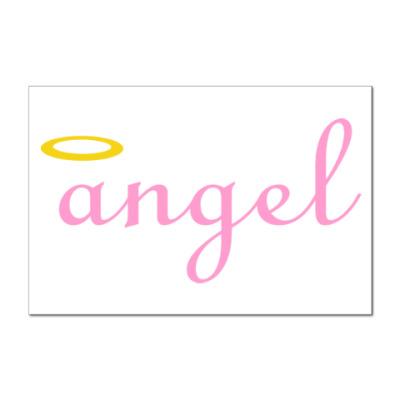 Наклейка (стикер) Ангел