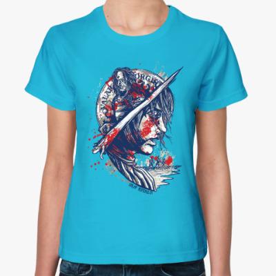 Женская футболка Valar Morghulis Игра престолов