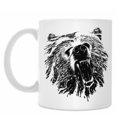 Кружка Медвежий оскал