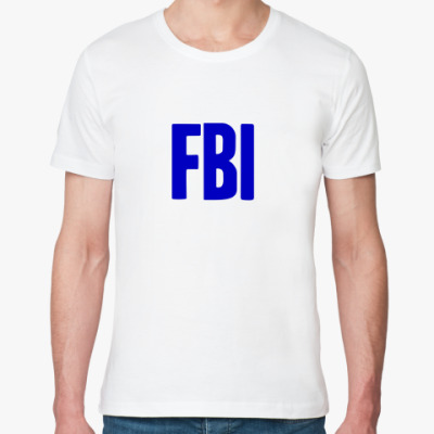 Футболка из органик-хлопка  ФБР