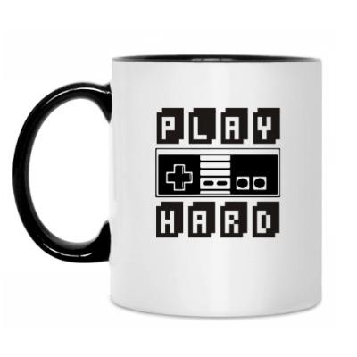 Кружка 'Play hard'