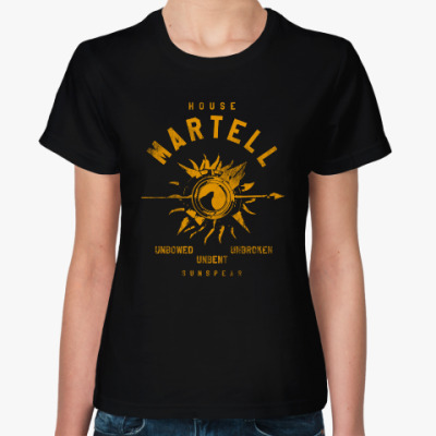 Женская футболка House Martell
