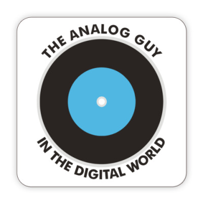 Костер (подставка под кружку) Подставка Analog guy