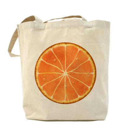 Сумка  апельсин
