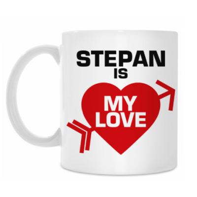 Кружка Степан - моя любовь