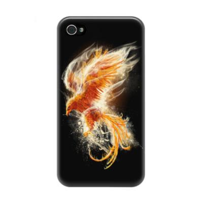 Чехол для iPhone 4/4s Птица Феникс Fenix bird